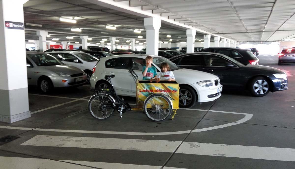 (Ein) Lastenrad für Alle – bald überall in Nürnberg?
